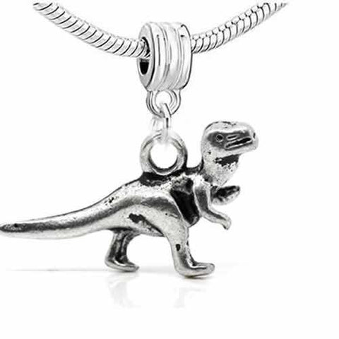 Dinosaur 3d Dangle Spacer European Bead Compatible for Most European Snake Chain Bracelet - Sexy Sparkles Fashion Jewelry - 2