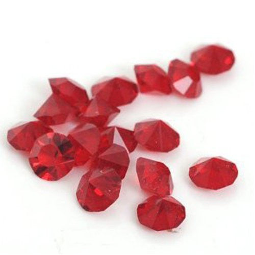 10 Garnet Created Crystal Birthstones for Floating Charm Lockets - Sexy Sparkles Fashion Jewelry
