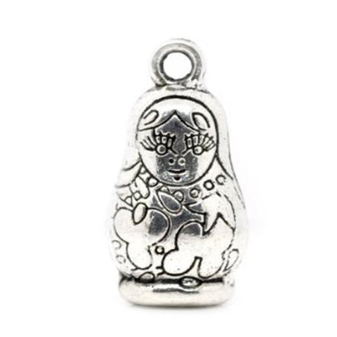 Russian Doll Charm Bead Compatible for Most European Snake Chain Charm Bracelets - Sexy Sparkles Fashion Jewelry - 2