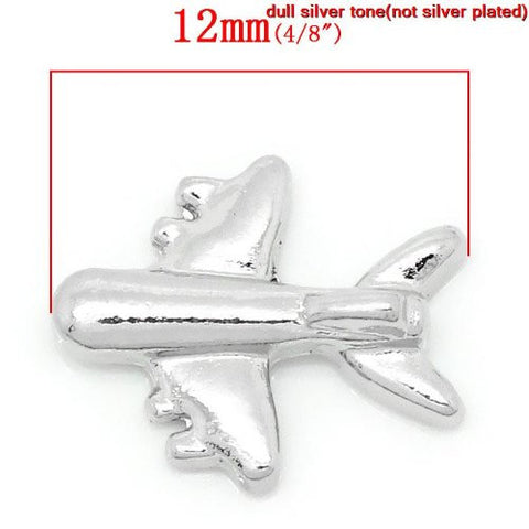 Aiplane Floating Charms For Glass Living Memory Lockets - Sexy Sparkles Fashion Jewelry - 3