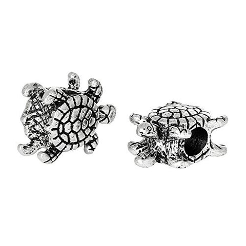 Turtle Bead Compatible for Most European Snake Chain Bracelet - Sexy Sparkles Fashion Jewelry - 2