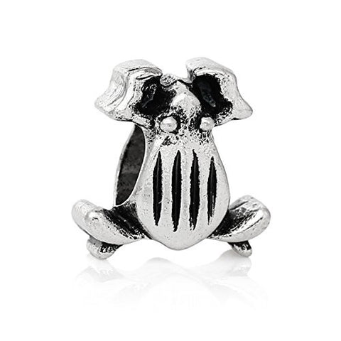 Frog Charm Bead for European Snake Chain Charm Bracelet - Sexy Sparkles Fashion Jewelry - 1