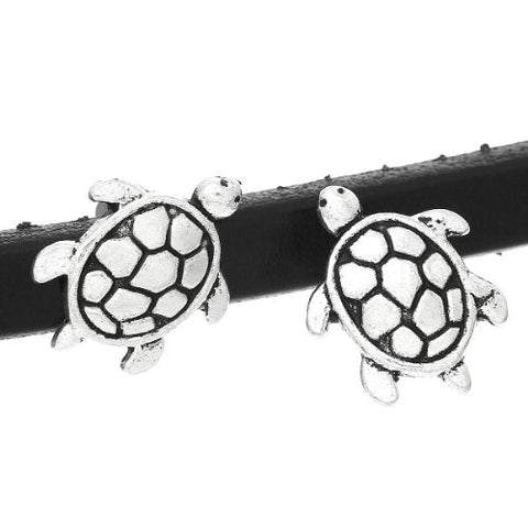 Charm Beads for Leather Bracelet/watch Bands or Wrist Bands (Turtle) - Sexy Sparkles Fashion Jewelry - 3