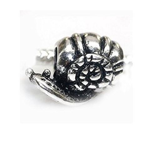 Snail Slide on Charm European Bead Compatible for Most European Snake Chain Bracelet - Sexy Sparkles Fashion Jewelry - 1