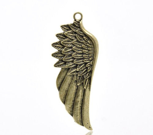 Angel Wing Pendant for Necklace - Sexy Sparkles Fashion Jewelry - 1