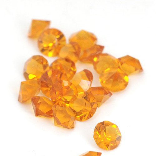 10 Topaz Created Crystal Birthstones for Floating Charm Lockets