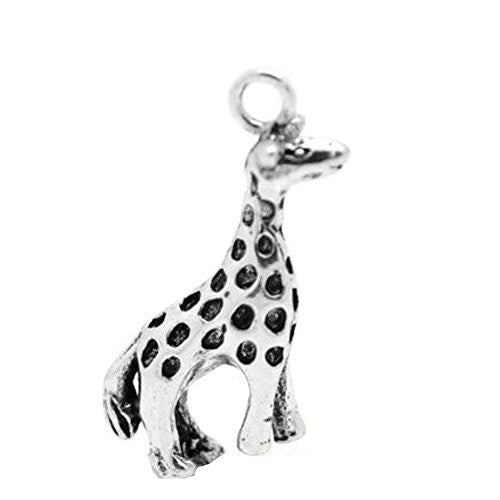 Giraffe Animal Bracelet Necklace Charm Pendant