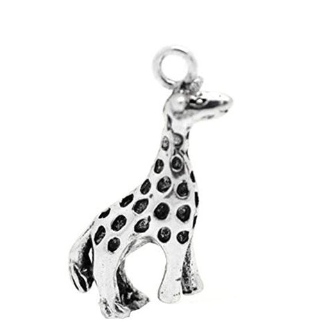 Giraffe Animal Bracelet Necklace Charm Pendant - Sexy Sparkles Fashion Jewelry - 1