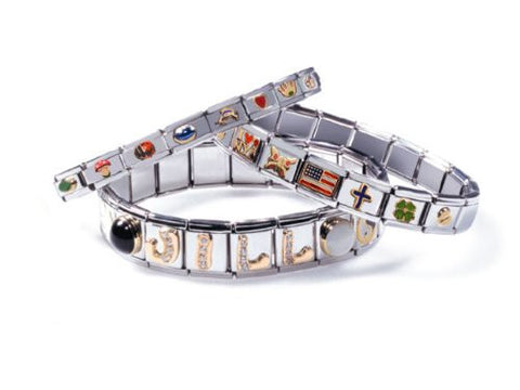 Happy Birthday Laser Italian Charm Bracelet Link - Sexy Sparkles Fashion Jewelry - 3