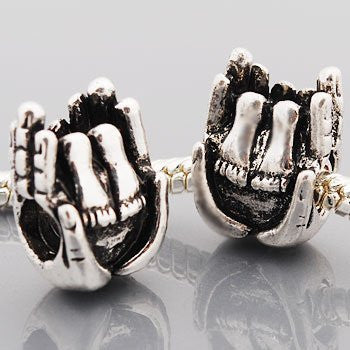 Hands Holding Baby Feet Charm Spacer Beads For Snake Chain Charm Bracelet - Sexy Sparkles Fashion Jewelry - 2