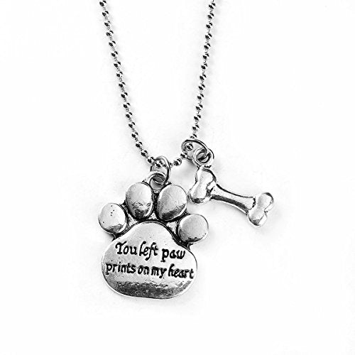 "Sexy Sparkles "" All My Children Have Paws "" Dog Cat Pet Memorial Necklace Pendant"