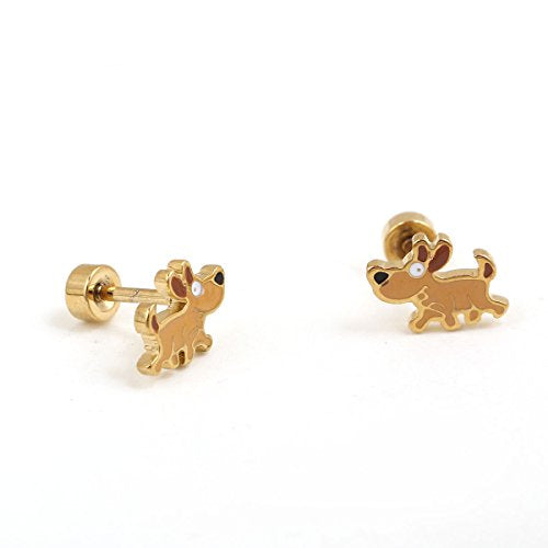 Sexy Sparkles Jewelry Women's Stainless Steel Ear post Stud Earrings