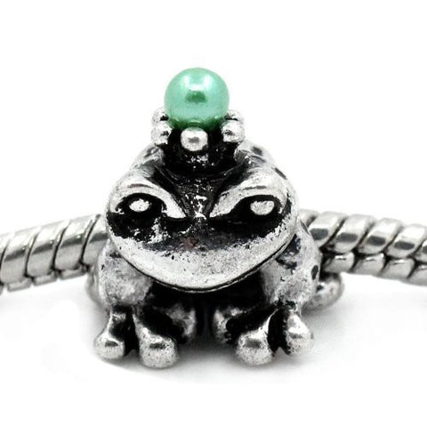 Prince Frog Bead Spacer for Snake Chain Charm Bracelet - Sexy Sparkles Fashion Jewelry - 4