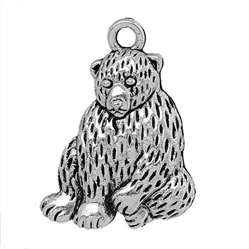 Bear Pendant for Necklace - Sexy Sparkles Fashion Jewelry - 1