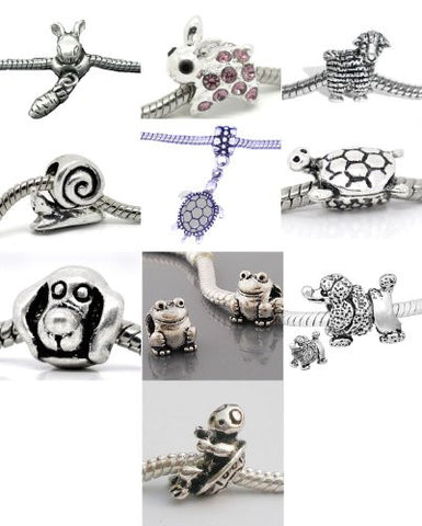 Elephant Carrying house Charm for European Snake Chain Charm Bracelets - Sexy Sparkles Fashion Jewelry - 3