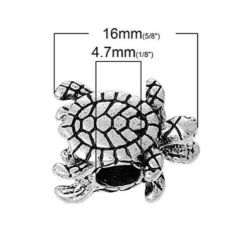 Turtle Bead Compatible for Most European Snake Chain Bracelet - Sexy Sparkles Fashion Jewelry - 3