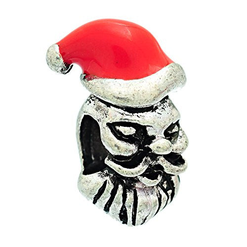 """Christmas Santa Claus "" Charm Bead Spacer Compatible for Most European Snake Chain Bracelet - Sexy Sparkles Fashion Jewelry"