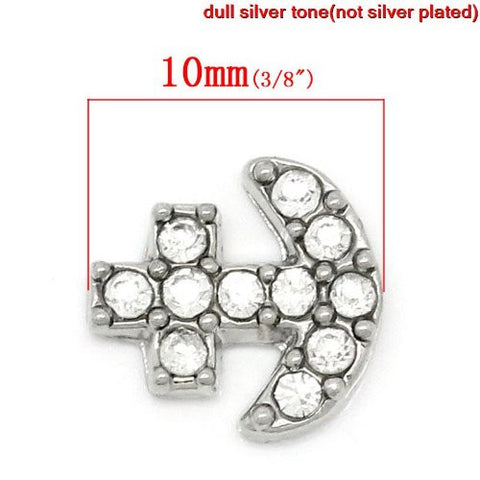 Anchor Floating Charm For Glass Living Memory Lockets - Sexy Sparkles Fashion Jewelry - 4