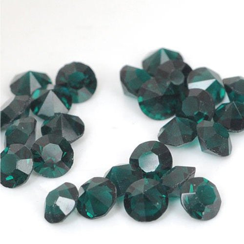 10 Created Green Crystal Birthstones for Floating Charm Lockets - Sexy Sparkles Fashion Jewelry