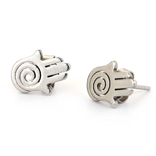 SEXY SPARKLES stainless steel stud earrings for girls teens women Hypoallergenic
