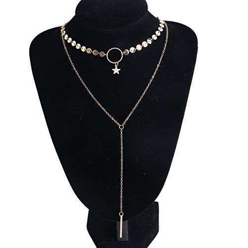 Sexy Sparkles y shaped necklaces for women Lariat Silver Tone