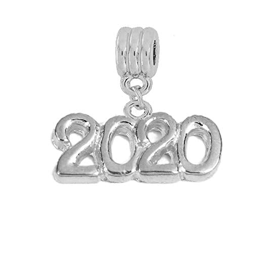 Sexy Sparkles Year 2020 Charms for Bracelets