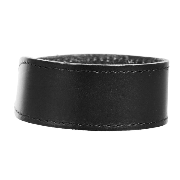 Sexy Sparkles Mens Genuine Real Leather Wrist Bracelet Wide Casual Wristband Cuff Bangle Adjustable