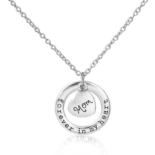 "Sexy Sparkles "" Forever In My Heart "" Mother's Day Family Jewelry Necklace"