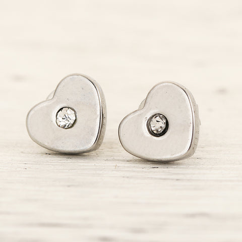 3 Pairs Stainless Steel Heart Stud Earrings for Women and Girls  Manufacturer:  Stud Earrings