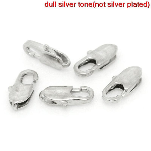 20 Pcs Silver Tone Lobster Clasp 12mm X 6mm - Sexy Sparkles Fashion Jewelry - 1