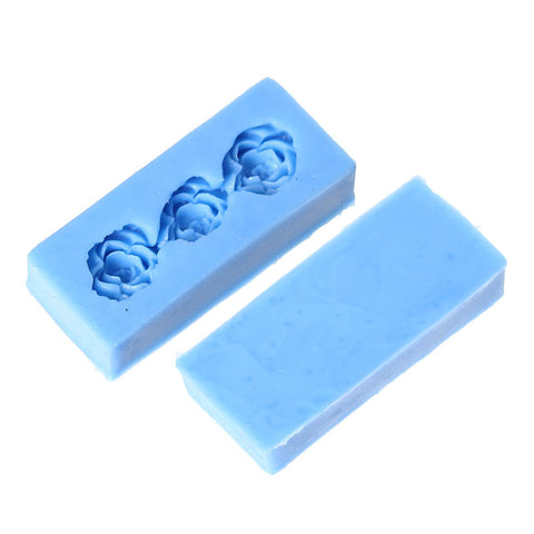 "Flower Silicone Mold Polymer Clay Floral Mold Pattern 2-2/8"" - Sexy Sparkles Fashion Jewelry - 2"