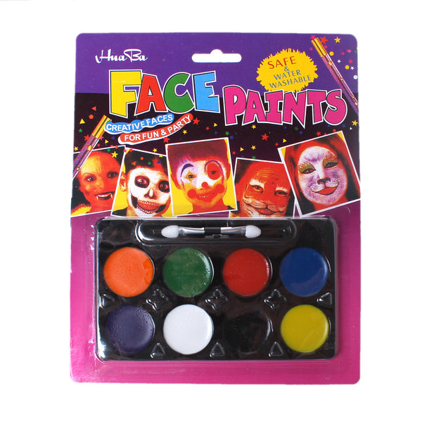 Face and Body Art Paint 8 Colors Set [Health and Beauty] - Sexy Sparkles Fashion Jewelry - 1