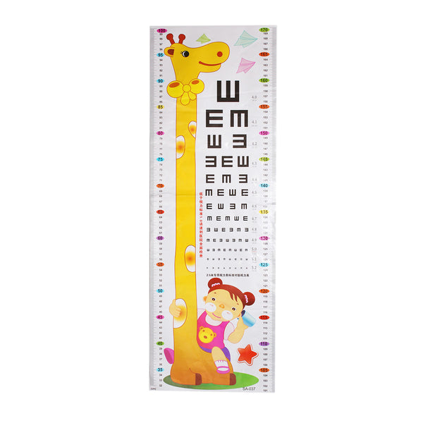 Height Measurement Growth Chart Wall Sticker Décor Giraffe Design 170cm - Sexy Sparkles Fashion Jewelry - 1