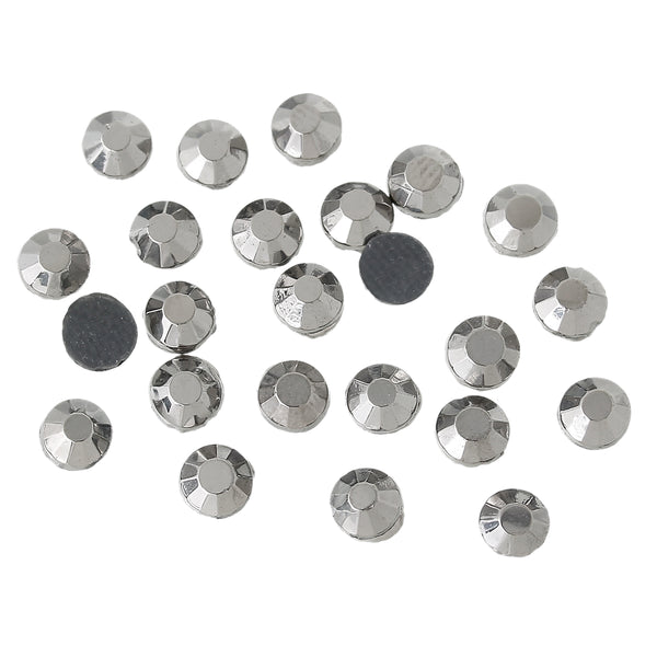 Sexy Sparkles DIY Iron on Fix Hot Flatback Rhinestones ss20 5mm (Gray)