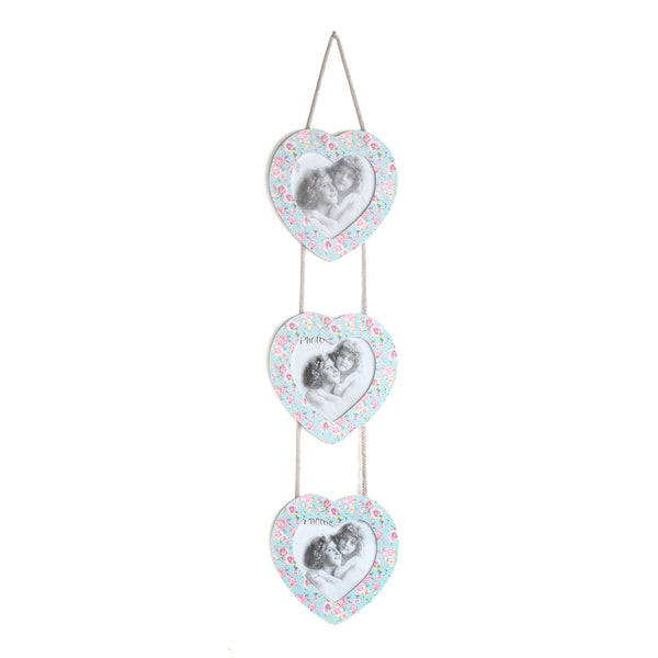 Decorative Heart Wood Picture Frame Wall Hanging [Kitchen] - Sexy Sparkles Fashion Jewelry - 1