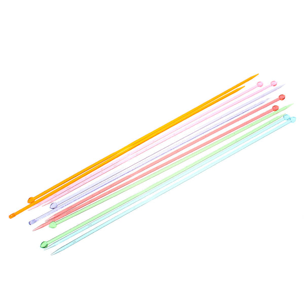 Acrylic SP Knitting Needles (4.0mm 35cm 13-6/8') - Sexy Sparkles Fashion Jewelry - 1