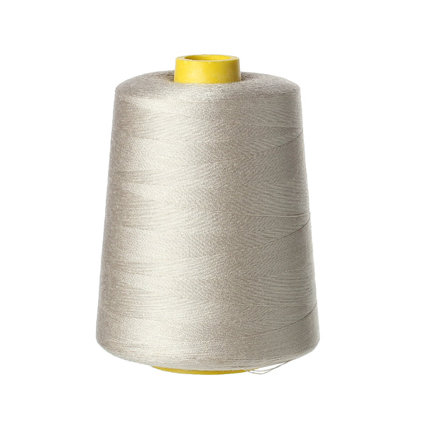 Sexy sparkles 1 Roll Terylene Jewelry Sewing Thread Sewing Machine Craft 0.1mm (French Grey)