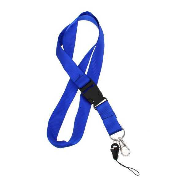Sexy Sparkles ID Card Badge Neck Strap Lanyard Survival Buckle Clasp (Dark Blue)