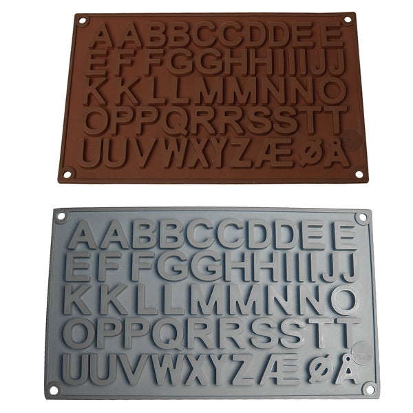 Sexy Sparkles Letter Alphabet Chocolate Mold Silicone Pan Cake Baking Tools
