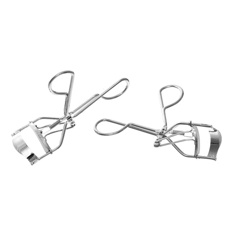 Sexy Sparkles Beuty Makeup Tool Eyelash Curler Lady Women Silver Tone