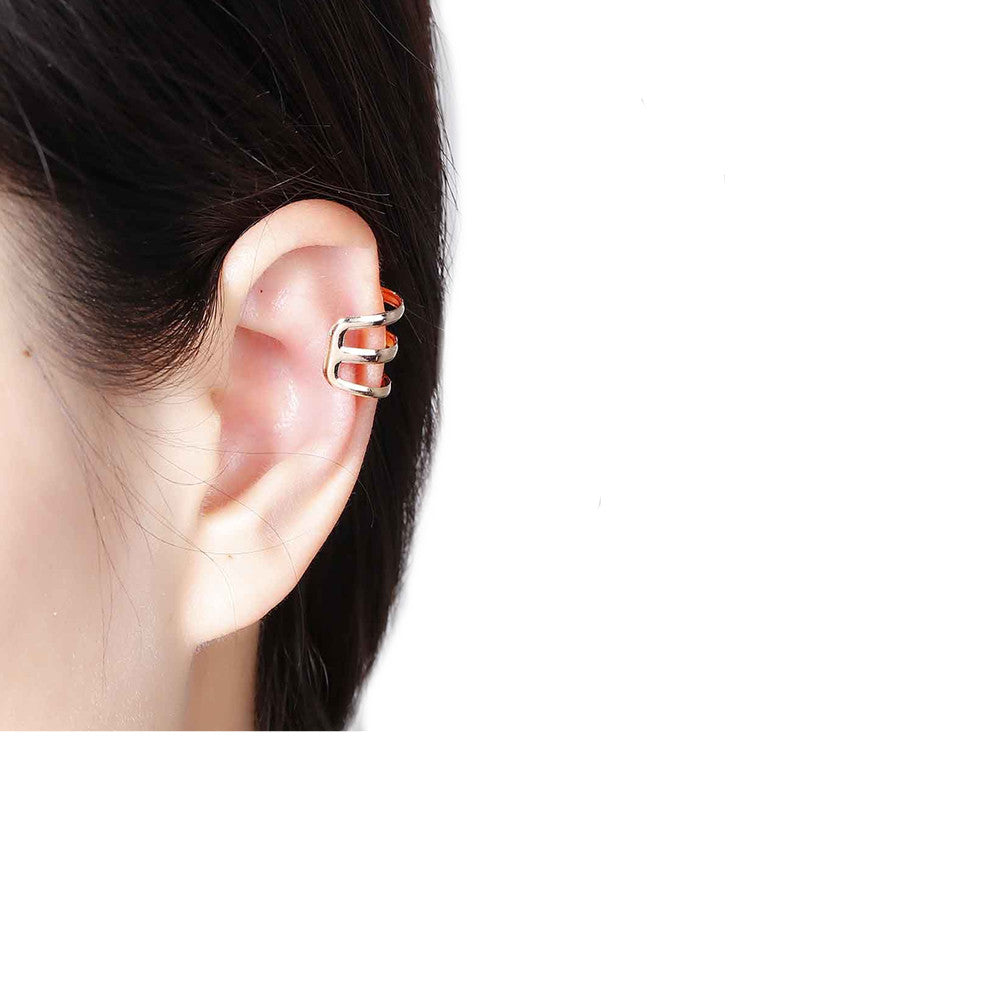 ears and clip for the stud girls products women sparkles ear wrap on cuffs sexy earrings