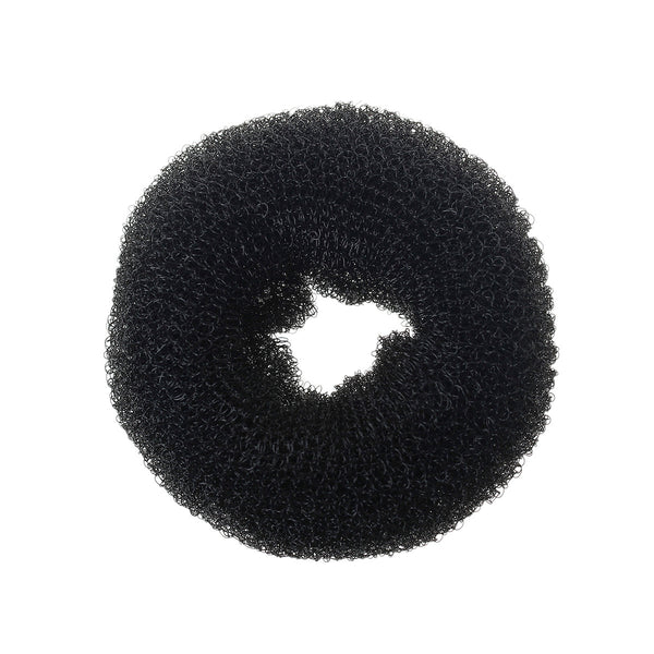 1 Pc Black Nylon Stylish Hair Bun Ring Donut Hair Styler Tool [Misc.] - Sexy Sparkles Fashion Jewelry - 1