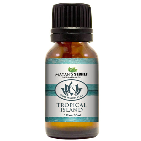 Mayan's Secret- Tropical Island - Premium Grade Fragrance Oil (30ml)