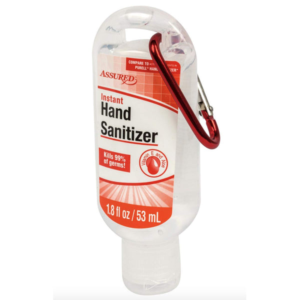 Assured Hand Sanitizer with Travel Clip 1.8 oz