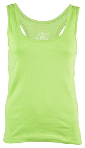 Woodwose Organic Clothing Women's Organic Cotton Tank Top (OCWTTLG01--XL, Green, X-Large) | SpreeIndia.com - India's First Website That Discovers Eco-Friendly Products