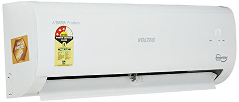 Voltas 1 Ton 3 Star Inverter Split AC (Copper, 123V CZT, White) | SpreeIndia.com - India's First Website That Discovers Eco-Friendly Products