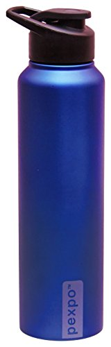 Pexpo Stainless Steel Water Bottle, 1 L, Blue | SpreeIndia.com - India's First Website That Discovers Eco-Friendly Products