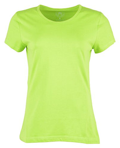 Woodwose Organic Clothing Women's Organic Cotton T-Shirt (OCWTSLG01-S, Green, Small) | SpreeIndia.com - India's First Website That Discovers Eco-Friendly Products