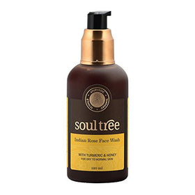 SoulTree Turmeric & Indian rose with Forest Honey Facewash (120ml) | SpreeIndia.com - India's First Website That Discovers Eco-Friendly Products