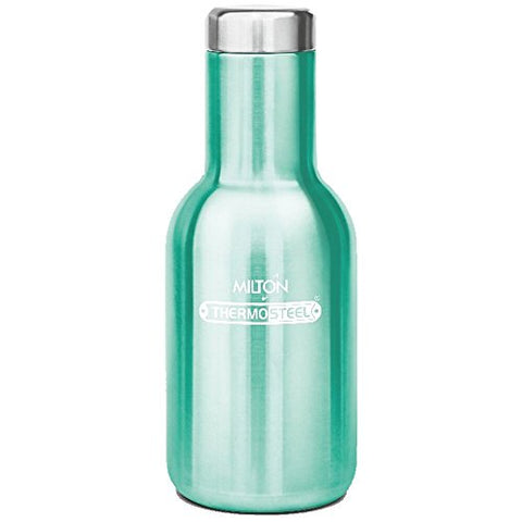 Milton Charm-400 Stainless Steel Bottle, 360ml, Green | SpreeIndia.com - India's First Website That Discovers Eco-Friendly Products